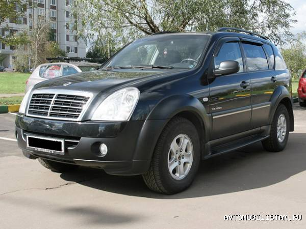 SsangYong Rexton II - фото