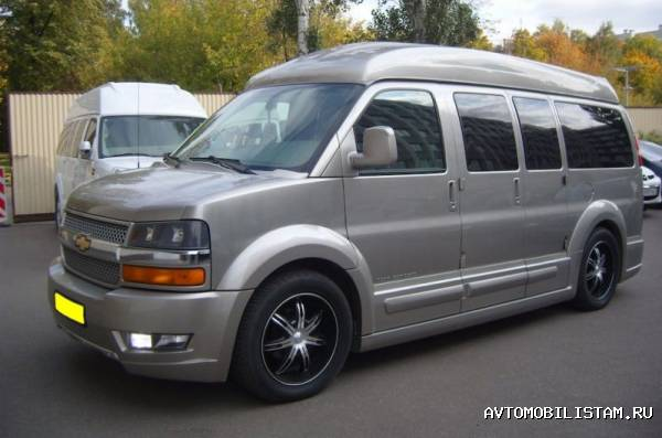GMC Savana Explorer - фото