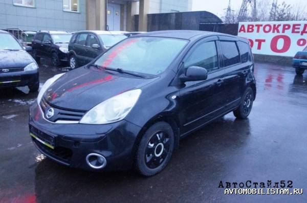 Nissan Note - фото